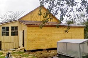Дачный деревянный дом под ключ