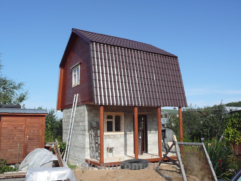 перестройка дома на даче фото типовых